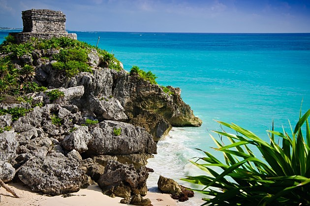 Mayan Temple in Tulum