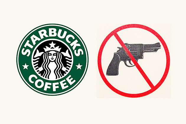 no guns in Starbucks