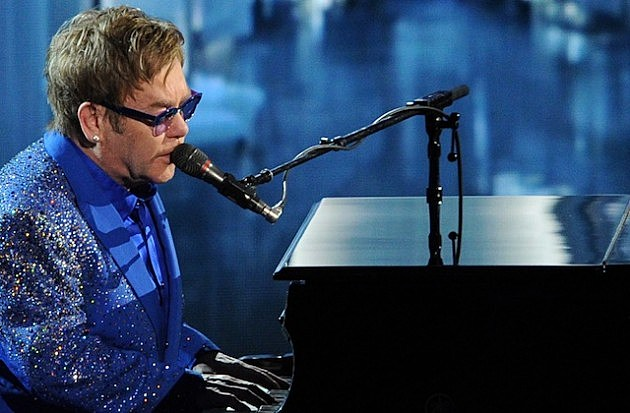 Elton John Performs Live