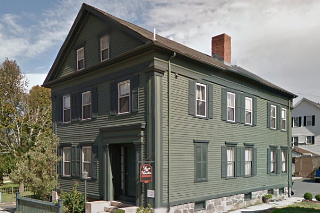 Lizzie Borden may or may not have hatcheted her parents to death in this house.