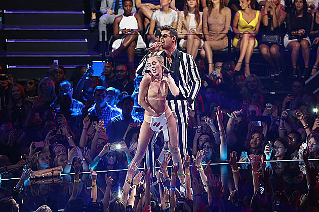 Miley Cyrus, Robin Thicke