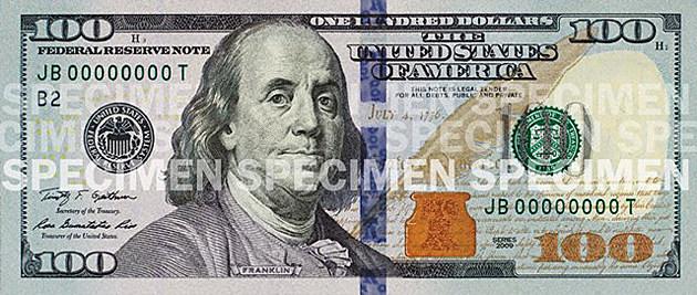 new 100-dollar bill
