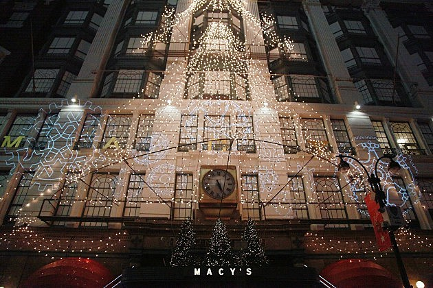 Christmas as Macy's flagship NYC store