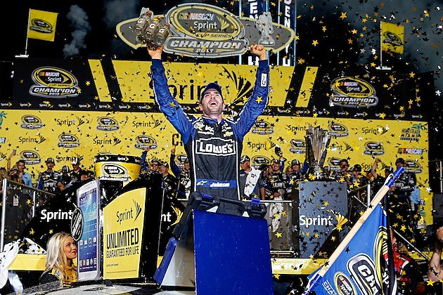 Images Jimmie Johnson won his sixth Sprint Cup Series championship    Jimmie Johnson Championships