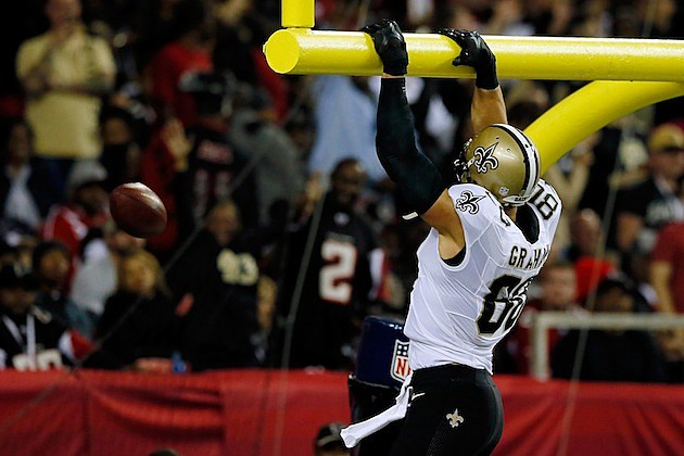 Jimmy Graham Goal Post
