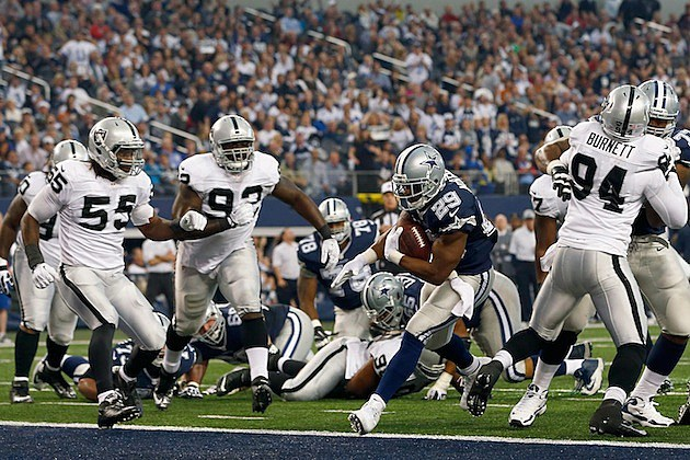 Cowboys - Raiders