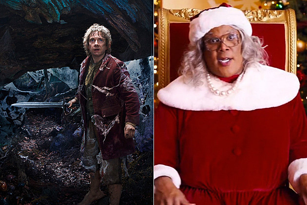 Hobbit 2, Madea Christmas