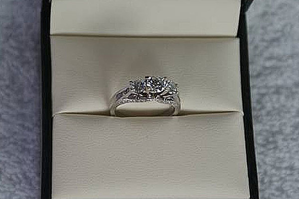 used and cursed engagement ring can be yours for 1 800