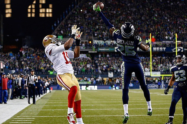 Richard Sherman 2014 NFC Championship