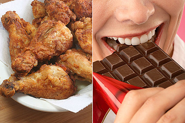 Fried Chicken, Chocolate