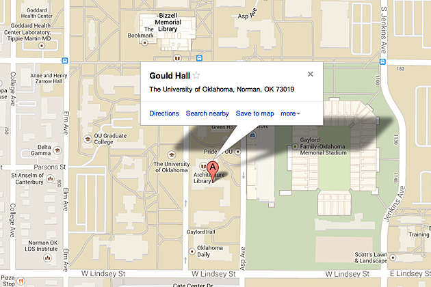 Gould Hall, University of Oklahoma