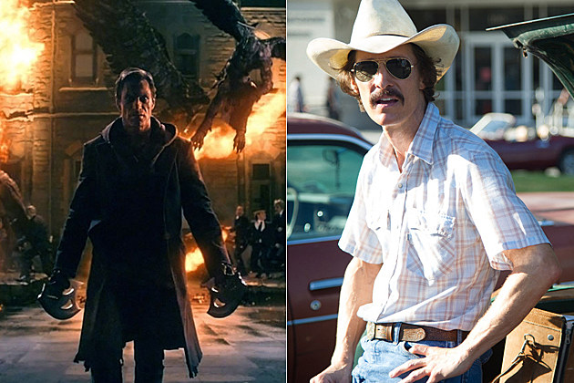 I, Frankenstein and Dallas Buyers Club