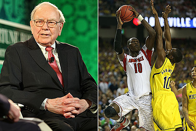 Buffett And Quicken Loans 1 Billion For Perfect Bracket