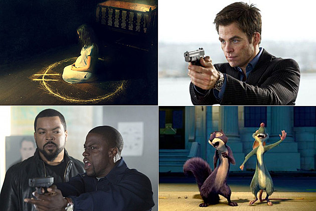 Devil's Due, Jack Ryan: Shadow Recruit, Ride Along, The Nut Job