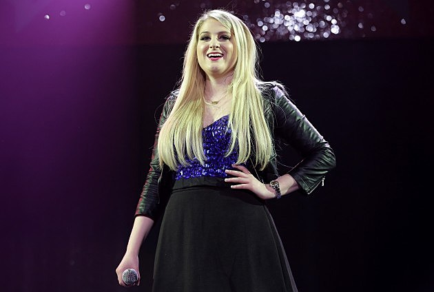 Meghan Trainor performs onstage during 93.3 FLZ's Jingle Ball 2014 at Amalie Arena on December 22, 2014 in Tampa, Florida.