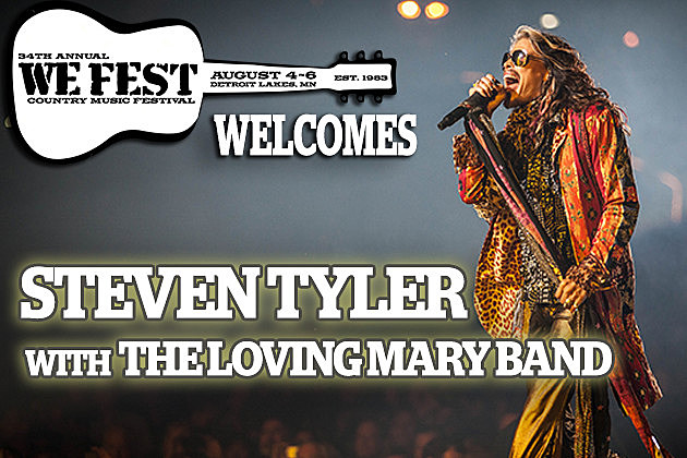 Welcomes Steven Tyler