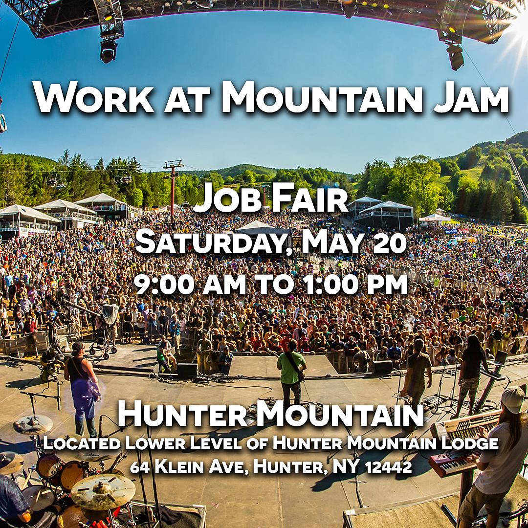 work at Mountain Jam